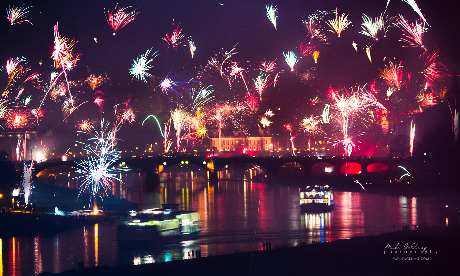New Year over Dresden